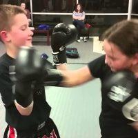 Kids kickboksen Hoogezand